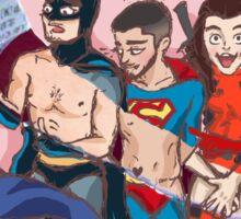 Ot5 Superheroes! Sticker