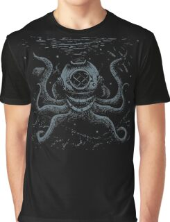 Octopus Diver Graphic T-Shirt