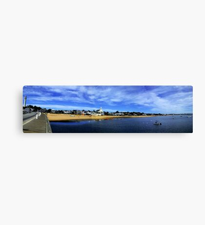 Provincetown MA Panoramic Canvas Print