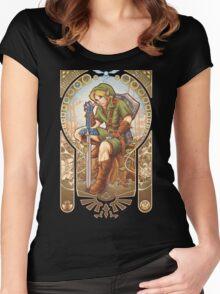 Hylian Spirit Women's Fitted Scoop T-Shirt
