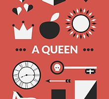 Once Upon A Time - A Queen by Redel Bautista