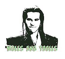 moles and trolls Photographic Print