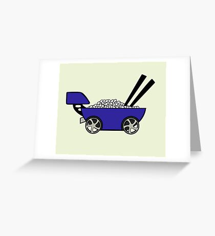 Ricer with full kit - Light colors Greeting Card