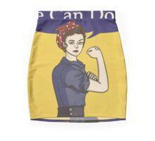 We can do it! Rosie the riveter Mini Skirt