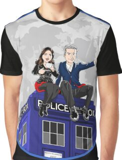 Clara and the Doctor Graphic T-Shirt