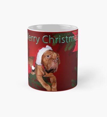 Merry Christmas Dogue de Bordeaux 2 Mug