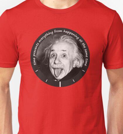 Einstein - Time Quote Unisex T-Shirt