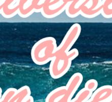 University of San Diego Waves Sticker