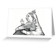 Queen Victoria Greeting Card
