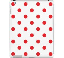 New dotted design in shop : red and white Luxury collection for stylish girl iPad Case/Skin