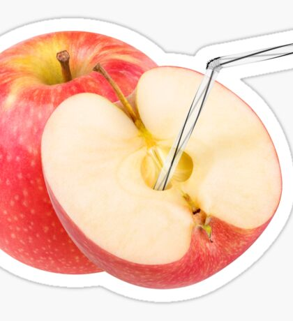 Natural apple juice Sticker