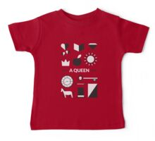 Once Upon A Time - A Queen Baby Tee