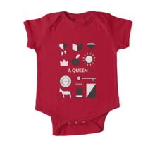 Once Upon A Time - A Queen One Piece - Short Sleeve
