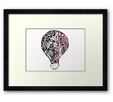 any idea is better than none  Framed Print