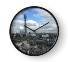 BT Tower towers over London Clock