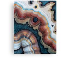 Agate ribbon Canvas Print