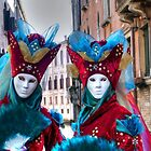 Venice - Carnival Mask 2012....03 - Twins by paolo1955