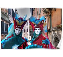 Venice - Carnival Mask 2012....03 - Twins Poster