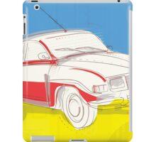 Saab 96 - Vintage Posters iPad Case/Skin