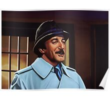 Peter Sellers as inspector Clouseau  Painting Poster