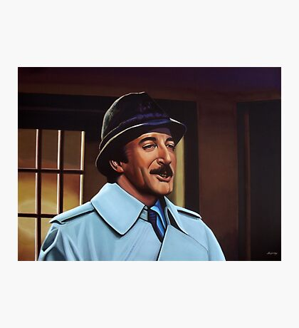 Peter Sellers as inspector Clouseau  Painting Photographic Print