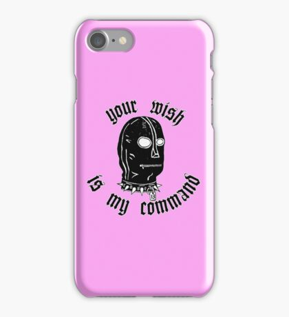 Your wish is my comand iPhone Case/Skin
