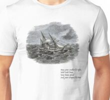 Anchor, Cork, Rum, Compass. Unisex T-Shirt
