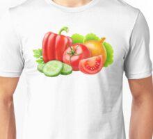 Mixed fresh vegetables Unisex T-Shirt