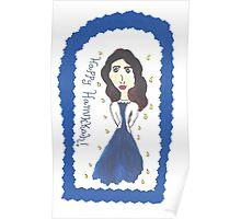 Hanukkah Girl Poster