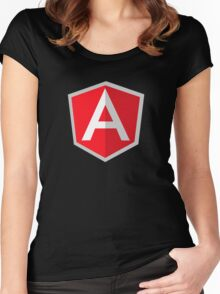 angularjs Women's Fitted Scoop T-Shirt