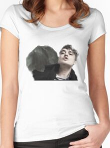 Pete Doherty (I don't love you but you're not just anyone Women's Fitted Scoop T-Shirt