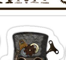 Steampunk design 2 Sticker