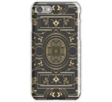Old Gilded Botanical Book Cover Design iPhone Case/Skin