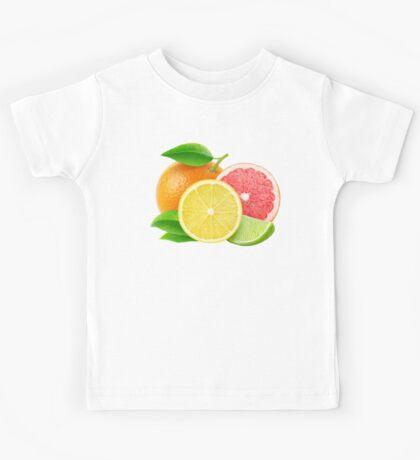Various citrus fruits Kids Tee
