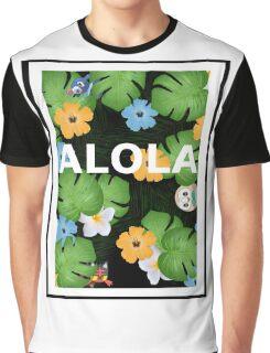 Alola Pattern Graphic T-Shirt
