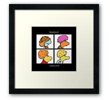Fragglez Framed Print