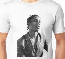 ASAP ROCKY BLACK WHITE Unisex T-Shirt