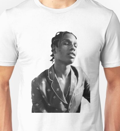 ASAP ROCKY BLACK WHITE Unisex T-Shirt