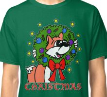 CHRISTMAS BUBBLE FOX Classic T-Shirt