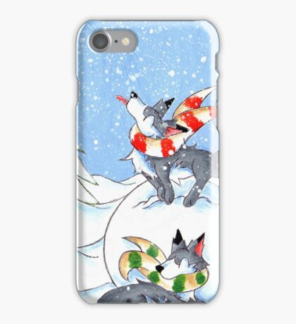 A Break for Snowflakes iPhone Case/Skin