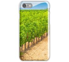 Vineyard Field in Southern France iPhone Case/Skin