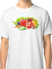 Fresh vegetables Classic T-Shirt