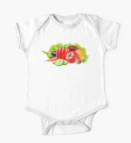 Fresh vegetables One Piece - Short Sleeve