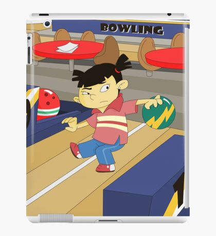 Non Olympic Sports: Bowling iPad Case/Skin