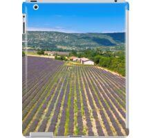 Lavender Field in Provence, France iPad Case/Skin