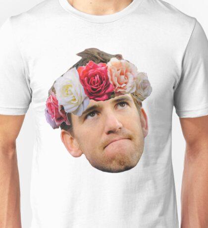 Flower Crown Eli Manning Unisex T-Shirt