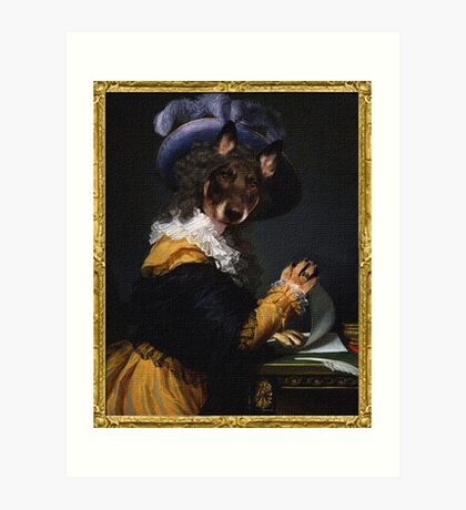 Lady Stella of Artois Art Print