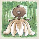 Empire of Mushrooms: Geastrum minimum by Barbora  Urbankova