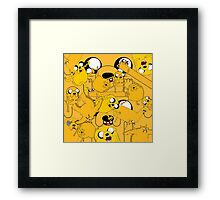An Ode to Jake Framed Print