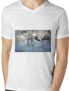 Snowstorm Mens V-Neck T-Shirt